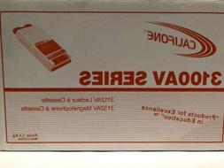 Califone 3100AV Series Cassette Player/ Recorder •Model