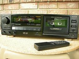 Aiwa AD-F810 Remote Control 3 head Cassette Deck