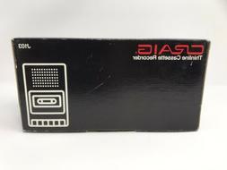 BRAND NEW! CRAIG Thinline Cassette Recorder Model J103 Unuse