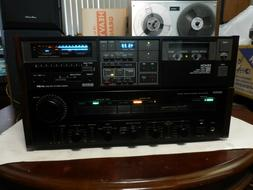 Denon DR-M4 Three Head Stereo Cassette Deck w EXTRAS