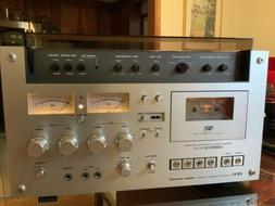 Akai GXC-570D II Stereo cassette Deck MINTY CONDITION W/Cust