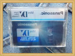 HEAD CLEANER MINI VINTAGE digital video 7cm PANASONIC RARE g
