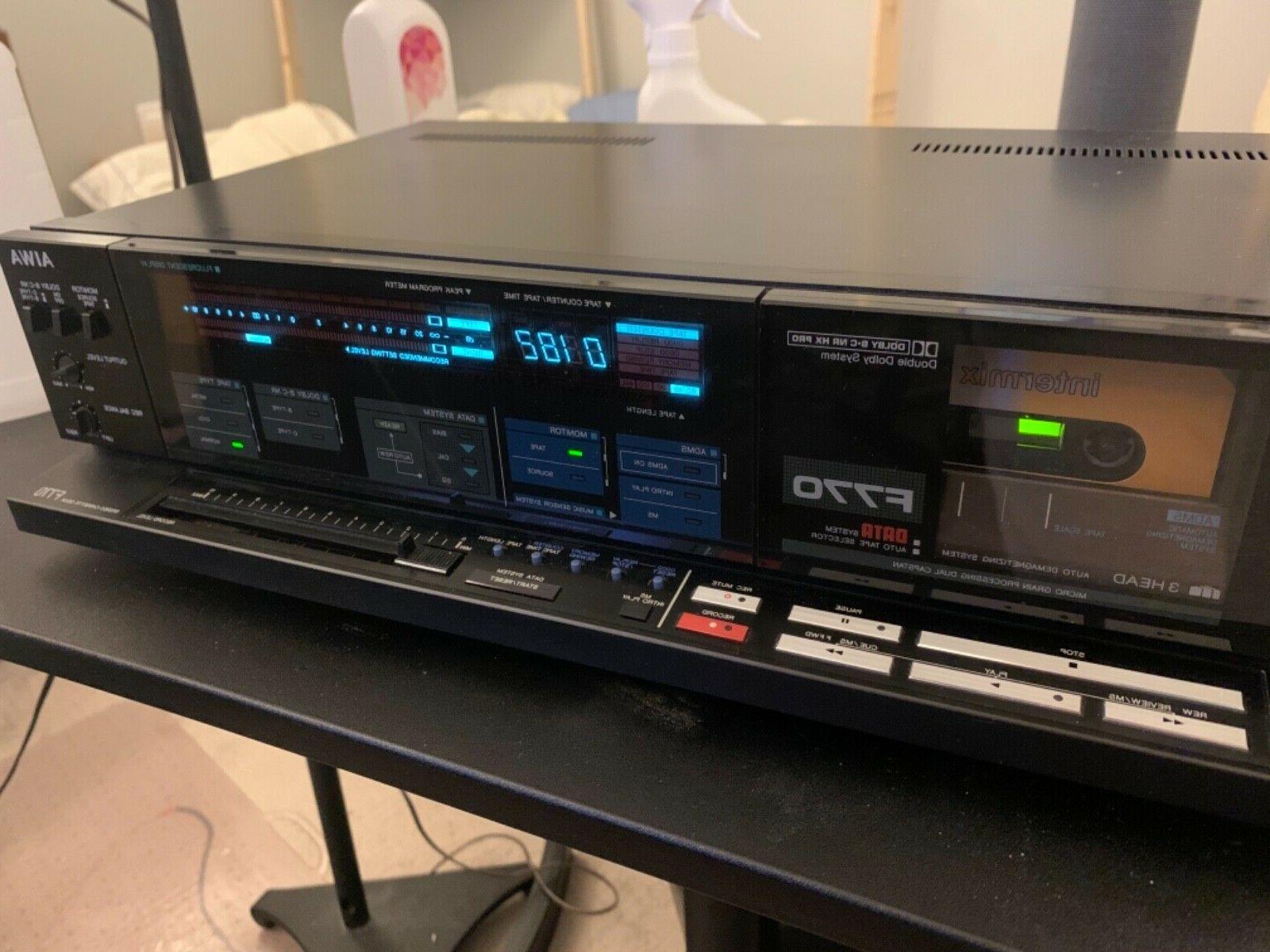 ad f770 3 head cassette deck