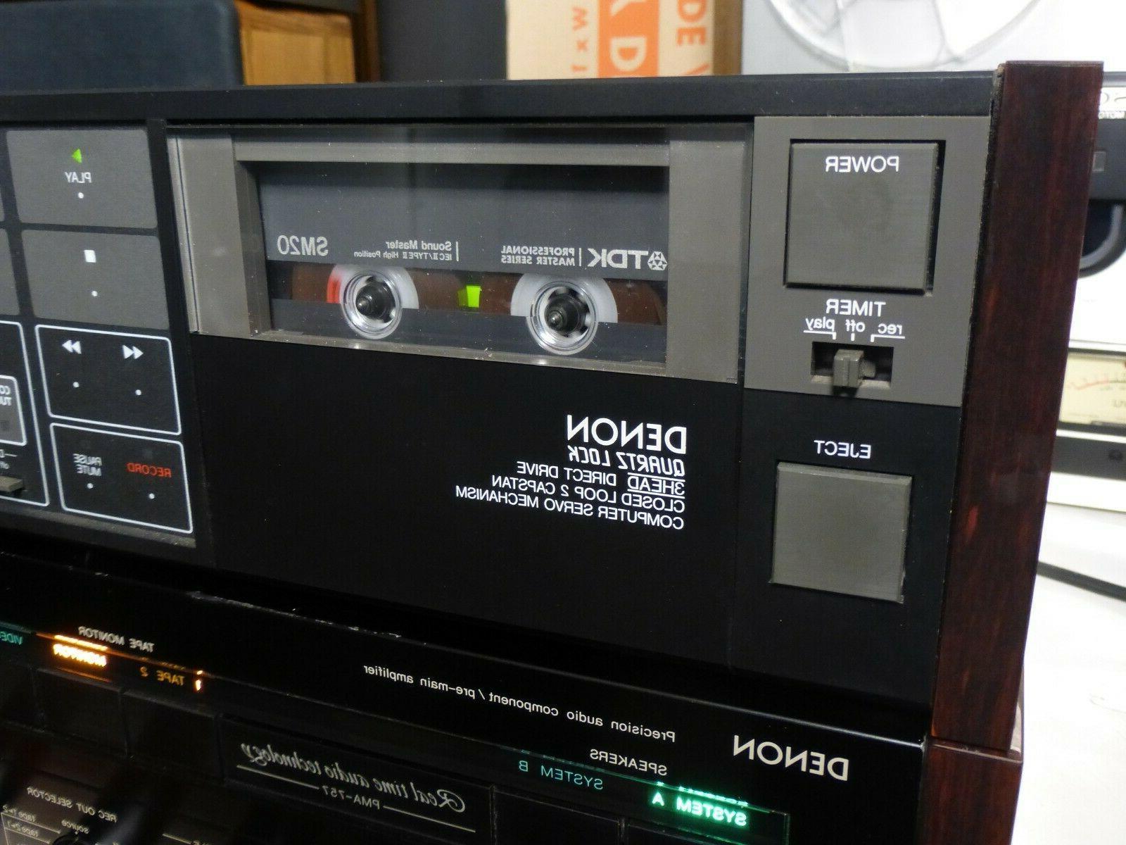 Denon Stereo Cassette