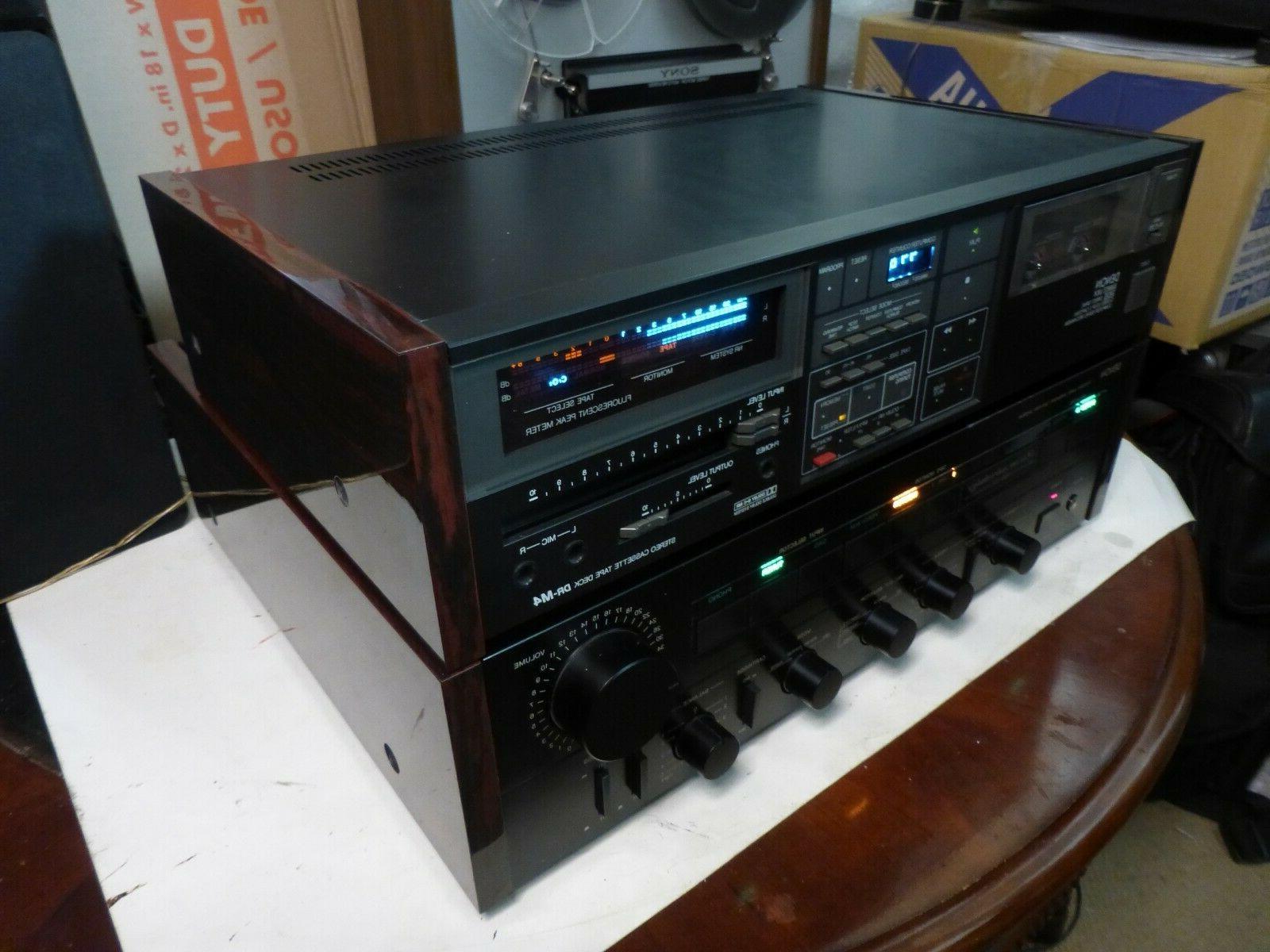 Denon DR-M4 Three Head Stereo Cassette Deck EXTRAS