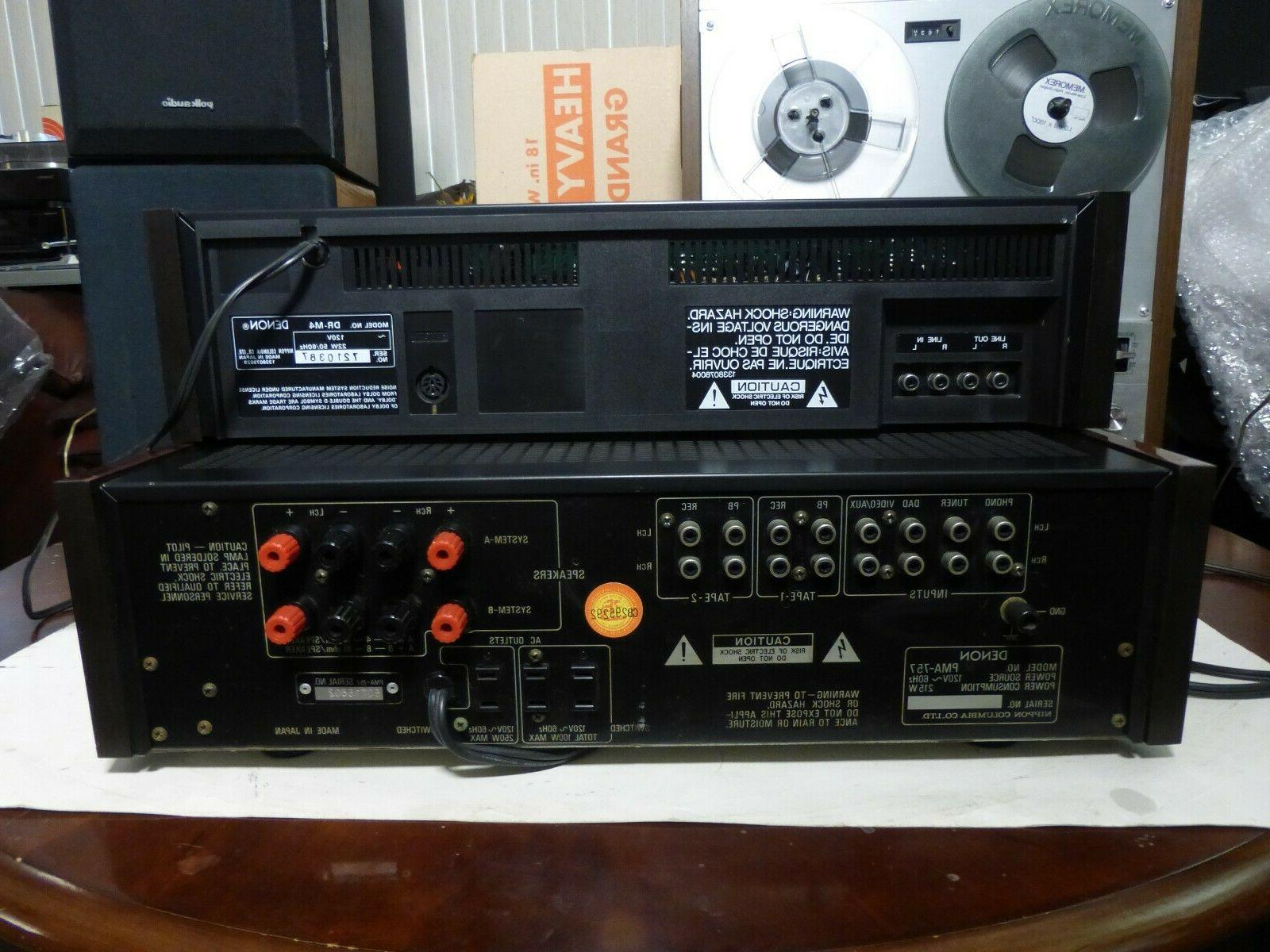 Denon DR-M4 Three Stereo Deck EXTRAS