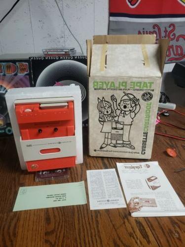 g3700 portable cassette player new in original