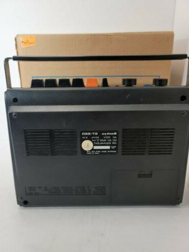 Sankyo AC/DC Tape Recorder No Cord