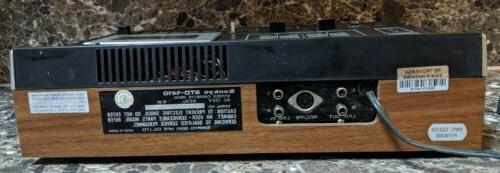 Sankyo STD-1410 Cassette Deck Vintage 1970's Tested