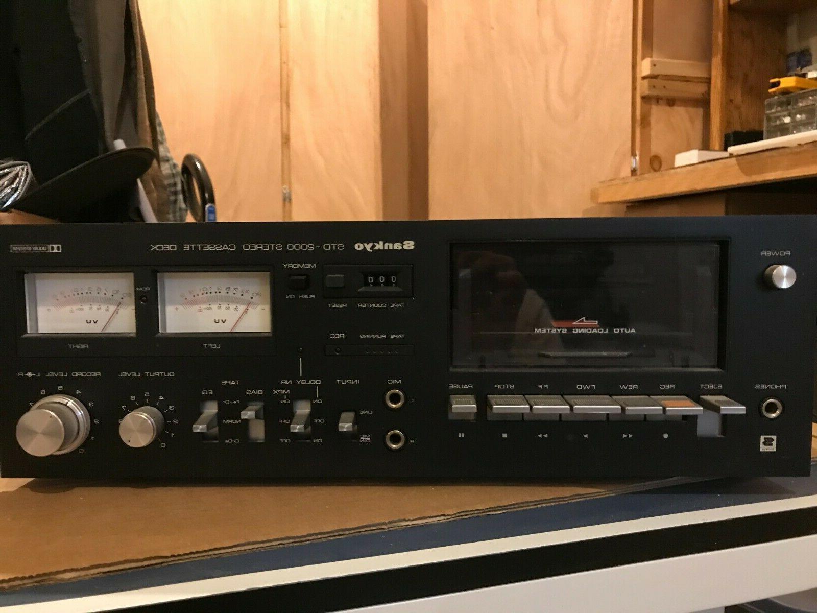 std 2000 cassette deck