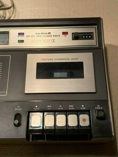 Vintage Sankyo Cassette