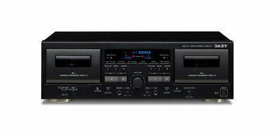 w 1200 double cassette deck usb
