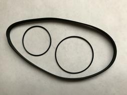*New 3 Belt Replacement BELT SET*  Panasonic Technics RS-M21
