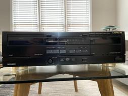 NICE Vintage Sansui D-X219WR Dual Cassette Deck Player Recor