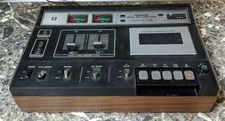 std 1410 stereo cassette deck vintage 1970