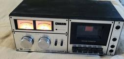 std 1650 stereo cassette deck serviced made