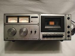 SANKYO STD-1650 Stereo Cassette Deck Vintage 1980's Vintage