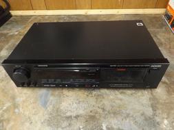 DENON Stereo Cassette Tape Deck Recorder Model DRR-680 - Tes