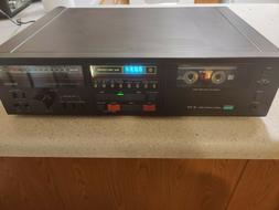 Vintage SANSUI Cassette Tape Deck D-370 Used