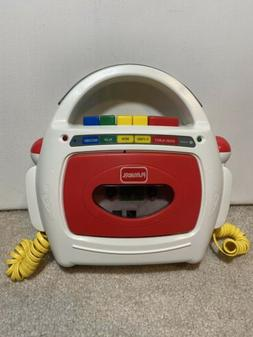 Vintage Playskool Kids Portable Cassette Recorder/Player PS-
