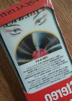 vintage radio shack realistic cassette tape fire