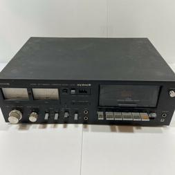 Vintage Sankyo STD-2000 Stereo Cassette Deck Dolby System-Wo
