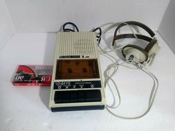 Vtg Califone 1300AV Portable Cassette Tape Recorder Player D